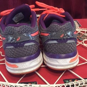 Asics Shoes - ASICS 8.5 gel excite 4 gray purple orange tennis